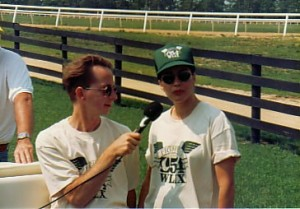 Kathy and me, Long Island, 1994