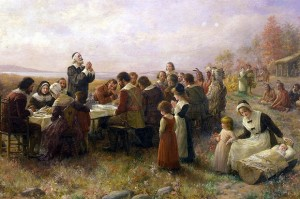 pilgrims 1st t-giving
